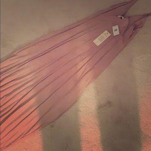 Blush pink Elan maxi dress